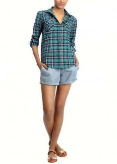 Chambaray Shorts | Nightwear |