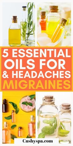 If you suffer from headaches or migraines you need to try these wonderful essential oils. These essential oils are a great natural remedy for migraine sufferers. Apply these oils topically or in a home diffuser! #Aromatherapy #Essentialoils What Are Essential Oils, Essential Oils For Headaches, Essential Oil Uses, Essential Oil Diffuser, Chamomile Oil, Chamomile Essential Oil, Eucalyptus Essential Oil, Aromatherapy Benefits, Aromatherapy Recipes