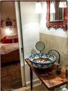 ... Hotel Schloss Blumenthal Bei Aichach #badezimmer #hotel #bunt  #waschtisch #waschbecken #mexiko #handbemalt #mediterran #badideen  #landhausstil #retro