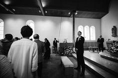 Mariée attend son épouse à l'église Vevey, Wedding, Photography, Valentines Day Weddings, Hochzeit, Weddings, Marriage, Casamento, Wedding Ceremonies