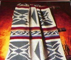 Afghan Crochet Pattern Throw Blanket by hookandneedlepattern, $2.50