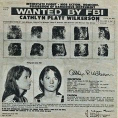 FBI Notice on Cathi Wilkerson Remembering the Weather Underground Anti-Vietnam War and Anti-Imperialism moments in the Civil Rights Movements. All the more relevant today. Weather Underground, Revolutions, Civil Rights Movement, Vietnam War, The Beatles, In This Moment, Movie Posters, Design, Film Poster