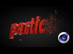 Particles to Text Transition - Cinema 4D Tutorial - YouTube