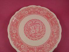 PINK STRAWBERRY HILL Plate Syracuse China