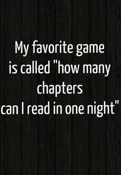 My favorite game...