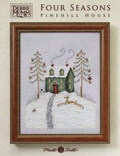 Pinehill House (Debbie Mumm) - Cross Stitch Pattern
