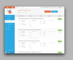 Dribbble - OrderRequests.png by Haraldur Thorleifsson