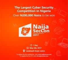 Largest cyber security competition in Nigeria to hold in May Cyber, Competition, Hold On, Naruto Sad