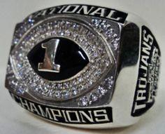 2005 USC Trojans Ring