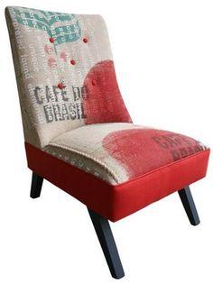 Chair burlap Cloth.