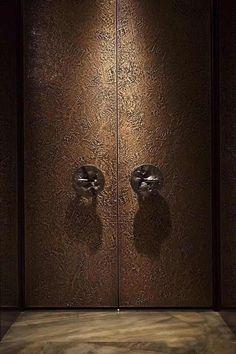 30 Modern Unique Doors Designs 2018 - Decor Units - October 15 2019 at Double Door Design, Main Door Design, Modern Entrance, Modern Door, Entrance Ideas, Exterior Doors For Sale, External Wooden Doors, Indoor Barn Doors, Glass Panel Door