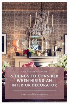 If you're planning on hiring someone to redecorate your home, you need to think carefully about your budget and requirements first. Interior Decorating, Birthday Parties, Chandeliers, Party, Budget, Decoration, Home Decor, Anniversary Parties, Transitional Chandeliers