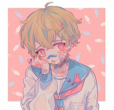 Pixiv Id 2572374 Image - Zerochan Anime Image Board Sad Anime, Cute Anime Boy, Kawaii Anime Girl, Anime Guys, Art Manga, Anime Art, Pretty Art, Cute Art, Art Hipster