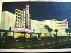 Vintage 1950's Linen color Postcard Hollywood by TheInstantMemory