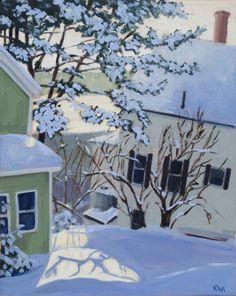 Kennebec River Morning by Martha Baum