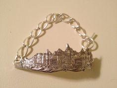 Sterling Silver Souvenir Spoon Bracelet by georginabaker on Etsy, $30.00