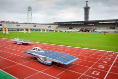 Nuon Solar Team op weg naar goud: Nuna6 verslaat voorganger in Olympisch Stadion by Nuon Solar Team, via Flickr