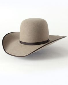 6ecb1cde15c Rodeo King® Open Crown 7X with Bound Edge Felt Hat Western Hats