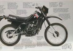 Yamaha DT125 Dt Yamaha, Yamaha Motorcycles, Cars And Motorcycles, 125 Motorcycle, Vintage Moped, Final Drive, Animal Sketches, Sport Bikes, Classic Cars