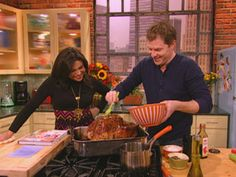 Bobby Flay's Roasted Turkey @Rachael Ray Show