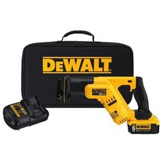 DEWALT Variable Speed Cordless Reciprocating Saw (Charger Included and Battery Included) at Lowe's. DEWALT 20 V MAX compact reciprocating saw bare Ah). Bright LED light illuminates dark work areas for better visibility. Cordless Power Drill, Cordless Drill Reviews, Cordless Tools, Best Treadmill For Home, Dewalt Drill, Cordless Reciprocating Saw, Exercise Bike Reviews, Good Treadmills, Saw Tool