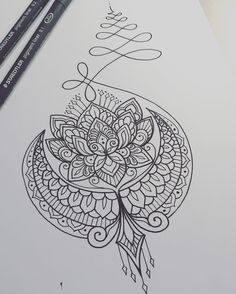 """636 Likes, 12 Comments - Dominique Holmes (@domholmestattoo) on Instagram: """"Design concept for Liban #tattoo #tattoodesign #tattooart #art #design #drawing #sketch #penandink…"""""""