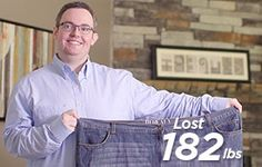 Meet Mark, he lost 182lbs with Mercy Health - Weight Management Solutions! Learn more about our surgical and nonsurgical weight loss options at 513-682-6980.