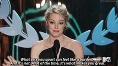"When she said this and everyone yelled out ""PREACH"". 