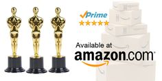 Oscar Award Trophies for Award Ceremonies & Parties. CHECK IT OUT HERE:  www.amazon.com/dp/B00VUF82VS