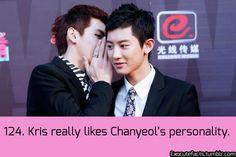 EXO Fact #124 •Kris & Chanyeol•