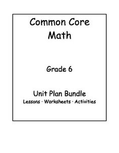 Hcpss grade 6 common core math wiki includes lessons math tasks 6th grade common core math unit bundle fandeluxe Gallery
