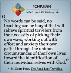 Quote from M. Scott Peck
