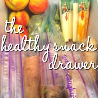 The Healthy Snack Drawer