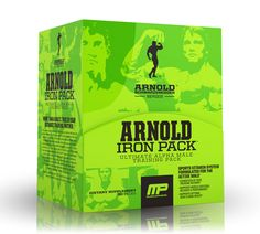 Arnold Schwarzenegger has his own series of supplements from MusclePharm.