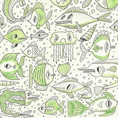 sketch book fishes