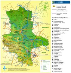 Large detailed map of Saxony-Anhalt