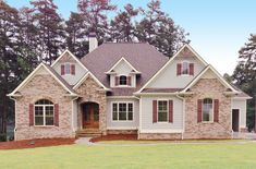 Striking Traditional House Plan - 24359TW | 1st Floor Master Suite, Butler Walk-in Pantry, CAD Available, Corner Lot, Exclusive, In-Law Suite, Luxury, Media-Game-Home Theater, PDF, Photo Gallery, Premium Collection, Sloping Lot, Southern, Traditional | Architectural Designs