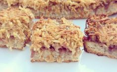 Coconut slice recipe, gluten free | smoothfm