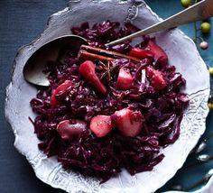 braised red cabbage - Christmas Side Dishes Pinterest