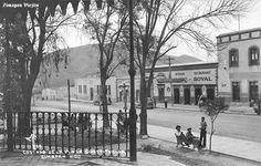 Vista parcial de Plaza de La Constitucion en Zimapan Hidalgo Mexico