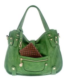 Take a look at this Green Beth Hobo by Melie Bianco on #zulily today! $49.99, regular 146.00