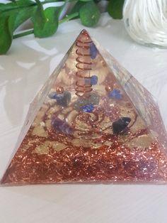 Orgonite Pyramid  Orgone Energy Pyramid  by NaturezEnlightenment