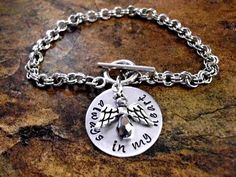 Personalized Jewelry Hand Stamped Jewelry Memorial by CharmAccents,