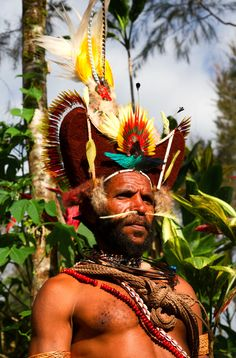 people in Papua, New Guinea