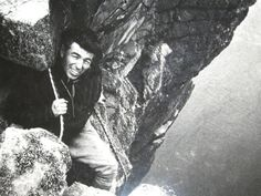 The great Joe Brown. One of the original hard men of climbing.