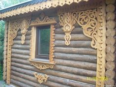 Wooden Architecture, Russian Architecture, Architectural Features, Architectural Salvage, Door Molding, Rustic Industrial Decor, Wooden Windows, Natural Home Decor, Wooden House