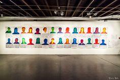 """""""Gli ultimi saranno i primi"""" progetto di arte pubblica, Sofia Sita, a cura di Annalisa Bergo, 15-30 novembre 2014, Fabbrica Borroni, Bollate. Con il coinvolgimento della cittadinanza bollatese."""