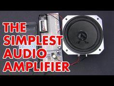 Make a simple 1 watt audio amplifier! (LM386 based) - YouTube