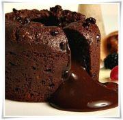 Receta volcan de chocolate | Recetas de bizcochos, masas y alfajores | Tus Recetas