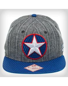 Party points to ME! I just found the Captain America Grey Snapback Hat from Spencer's. Visit their mobile website to get this item and more like it. Gag Gifts, Funny Gifts, Marvel Hats, Party Points, Hat Shop, Party Lights, Custom Tees, Funny Tees, Snapback Hats